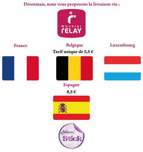 livraison 224 petit prix via mondial relay belgique luxembourg espagne salamstick le