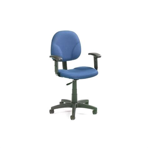 mid back ergonomic plastic task chair with arms b9091