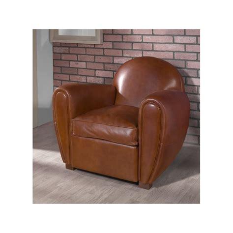 fauteuil club cuir santiago rennaise