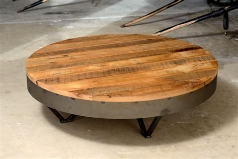 Round Coffee Table Ainove Large Round Low