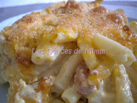 gratin de macaronis aux lardons blogs de cuisine