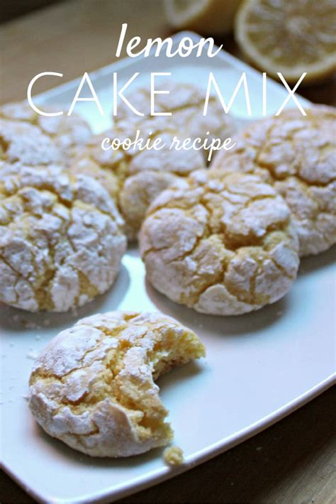 easy cake mix cookies 17 best ideas about lemon cake mix cookies on