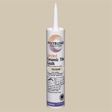 custom building products commercial 382 bone 10 1 oz silicone caulk ccsc382 the home depot