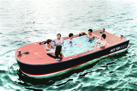 Hot Tub Boat by Travel Hot Tub Boat Latest Luxury Holiday Accessory