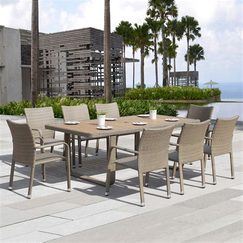 starsong ds010 ashena 9 outdoor dining set lowe s canada
