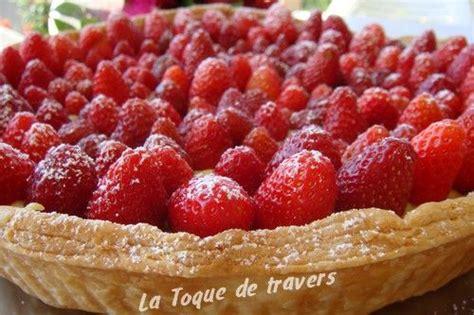 tarte feuillet 233 e aux fraises pour f 234 ter les mamans la toque de travers