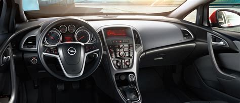 opel astra gtc gallery interior views of the compact sports car opel