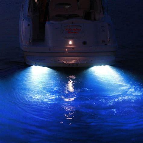 Cobalt Boat Drain Plug by 50w 4000 Lumen Garboard Boat Drain Plug Light Fire Water