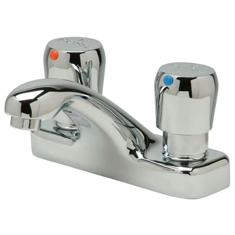 moen chateau 4 in centerset 2 handle utility faucet in