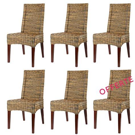 lot 6 chaises en rotin desna chaise en rotin pas cher lot chaises en rotin rotin design