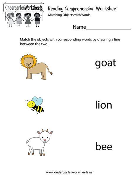 9 Best Images Of Kindergarten Reading Worksheets Printable  Kindergarten Reading Worksheets