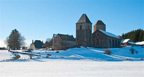 photo le d aubrac sous la neige 1715 diaporamas images photos