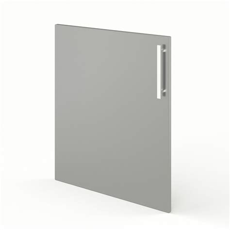 porte de cuisine gris f60 d 233 lice l60 x h70 cm leroy merlin