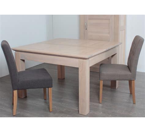 table carr 233 e allonge ch 234 ne massif quot stockholm quot 140cm 3119