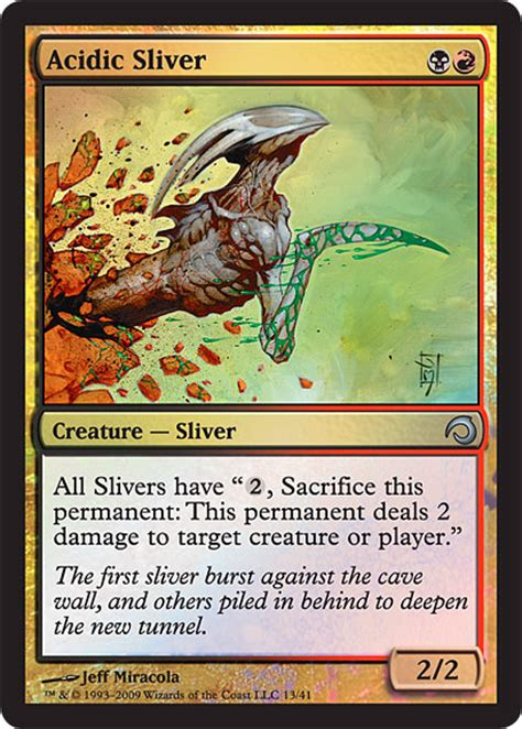 slivers packaging daily mtg magic the gathering