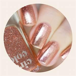 Rose Gold Wandfarbe : best rose gold metallic nail polish cirque colors halcyon ~ Markanthonyermac.com Haus und Dekorationen