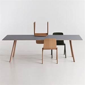 Linoleum Für Tischplatte : copenhague cph30 esstisch von hay connox ~ Markanthonyermac.com Haus und Dekorationen
