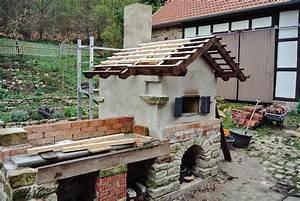 Lehmbackofen Selber Bauen : steinbackofen lehmbackofen selbst gebaut garten gestaltung in 2018 pinterest ~ Markanthonyermac.com Haus und Dekorationen