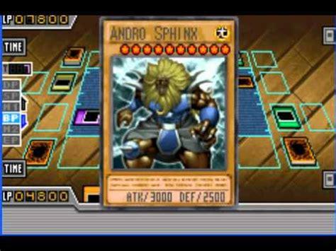 yugioh gx duel academy gba mid high level deck vs
