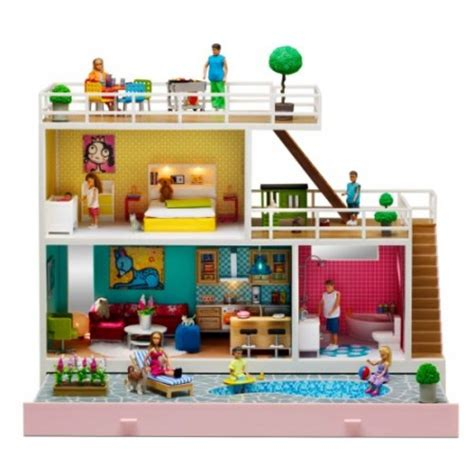 maison de poupee jeux et jouets pour enfant cadeau pour fille 3 ans 4 ans 5 ans 6 ans 7