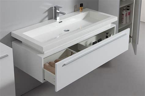 meuble vasque salle de bain design carrelage salle de bain