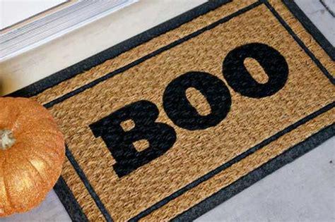 Boo! Diy Doormat Halloween Decoration Craft