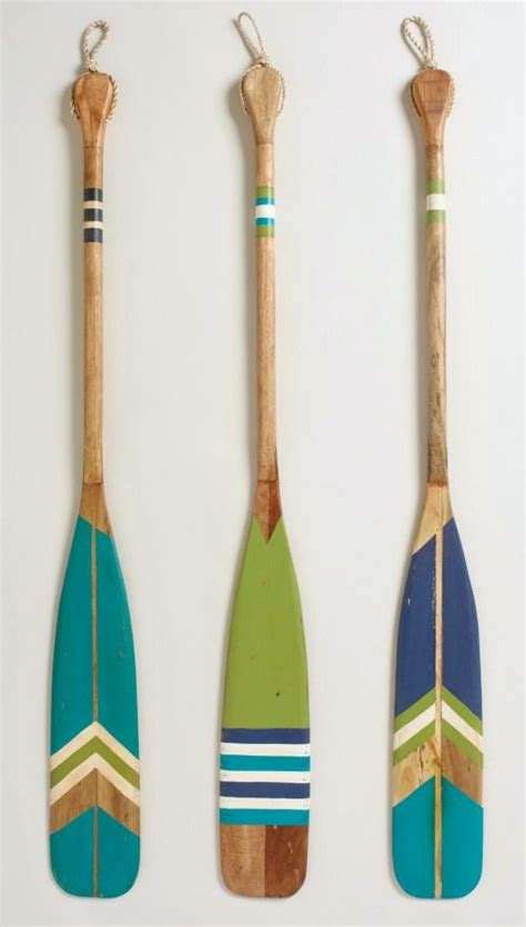 25 best painted oars ideas on oar decor decorative paddles and style house
