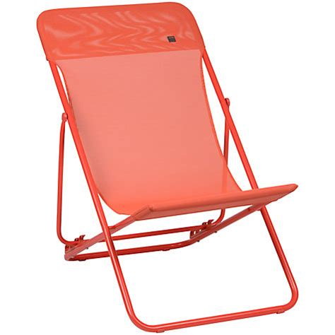 buy lafuma maxi transat deck chair at johnlewis