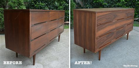 Refinish Wood Dresser