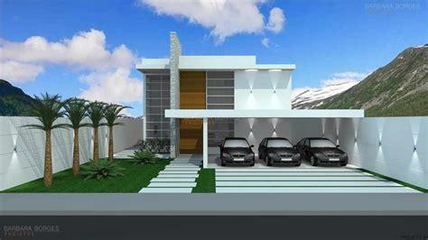 Projetos De Casas Modernas| Barbara Borges Projetos 3d