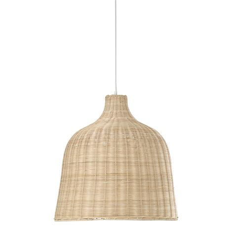 suspension tress 233 e en osier d 51 cm irina maisons du monde