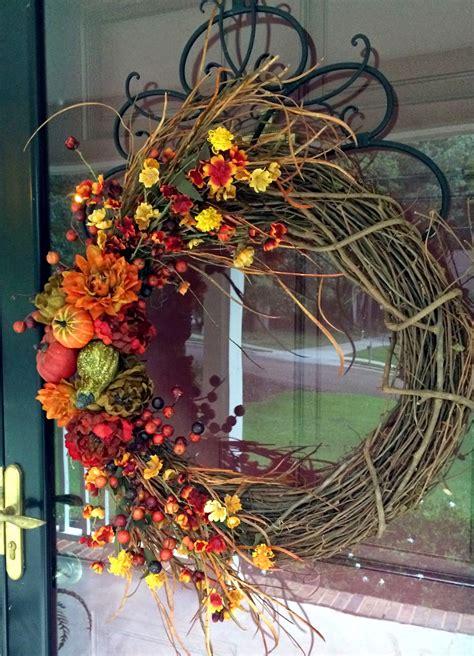 Southern Inspirations Diy Fall Wreathhello Fall