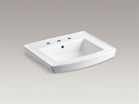 Kohler Archer Pedestal Sink Canada by Kohler Archer 24 Inch X 20 1 2 Inch Bathroom Sink Pedestal
