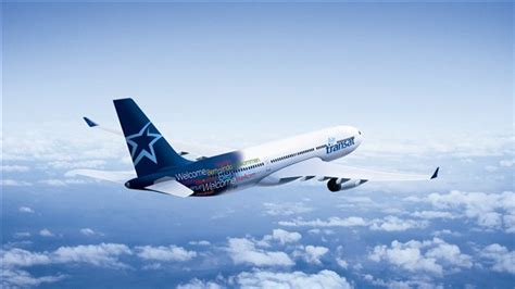 un avion d air transat