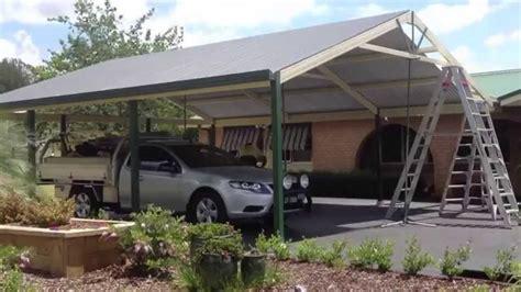 Premier Improvements  Construction Of A Gable Carport