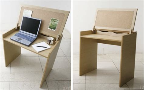 Tiny Desk by Dean Gives Reclaimed Office Furniture New