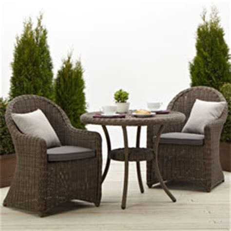 strathwood hayden all weather wicker bistro chair from li