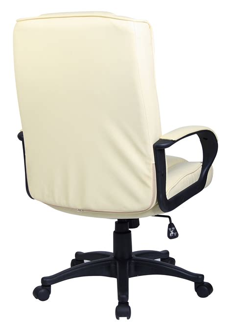 padded pu leather executive swivel office chair computer desk study chair ebay