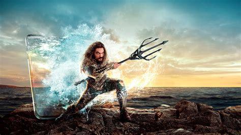 Wallpaper 🌟 Aquaman, Jason Momoa, Movie, Poster Desktop ...