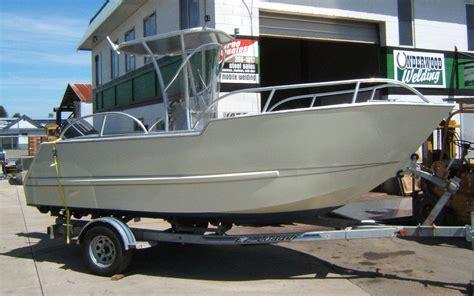 Aluminium Boot Cabin by Fishing Boats Custom Aluminum Boats