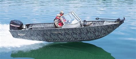 Triton Hunting Boats by Research Triton Boats Frontier 19dc Hunting And Duck Boat