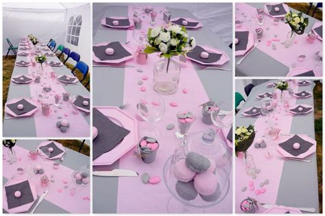 voici ma table pour la communion de ma patine de cagne