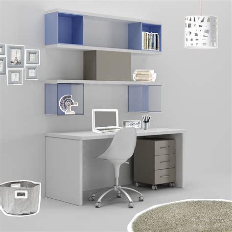 bureau ado avec niches d 233 co en m 233 thacrylate compact so nuit
