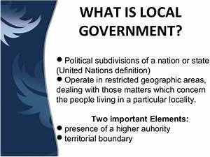 LOCAL GOVERNMENT UNIT PHILIPPINES- Merle Dawn Comidoy