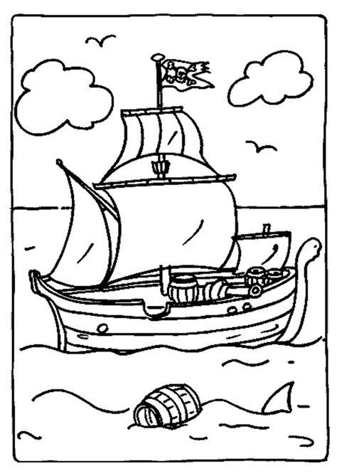 Dessin Animé Bateau Pirate by Coloriage D Un Bateau De Pirates