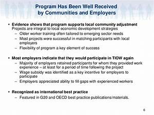 Targeted Initiative for Older Workers (TIOW): Best ...