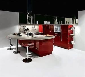 Küche Rot Streichen : u k che rot hochglanzlack ~ Markanthonyermac.com Haus und Dekorationen