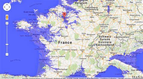 carte interactive qui vous permet de savoir quand votre maison sera inond 233 e