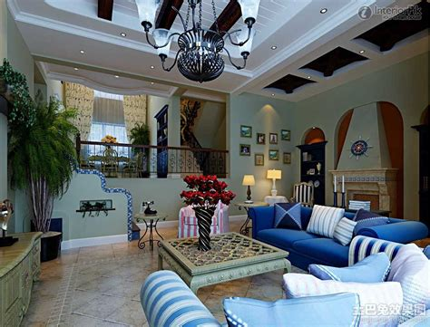 Mediterranean Living Room Design Of European Style [photos