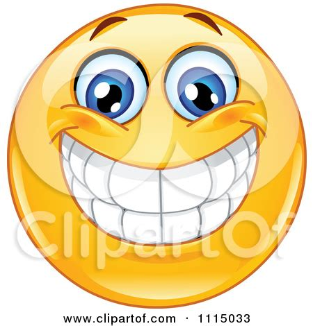 Toothy Grin Clipart